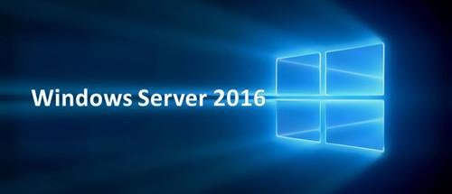 Windows Server 2016 Standard/Datacenter